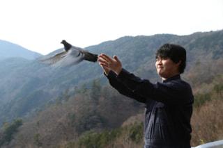 高校生が「救援鳩」を育てる研究