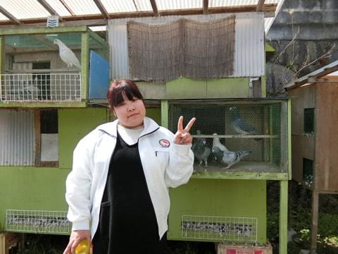 趣味のピジョンスポーツ 第13回「レース鳩飼育は、リアルな〝たまごっち〟!?」小沼朱里さん(賛助会員)