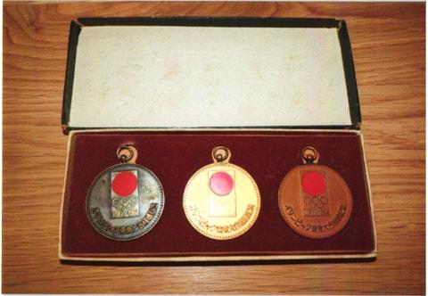 東京五輪、想い出のメダル
