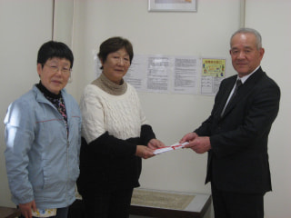 千葉東連盟が社会福祉法人へ寄付